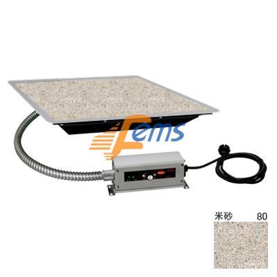 嵌入式石纹保温板(不锈钢边框)